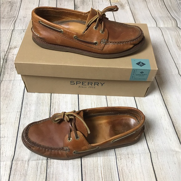 Sperry Top Sider Shoes Sperry Topsider Ao Sahara Gold